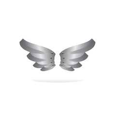 wing art vector image