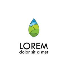 Environment logo vector