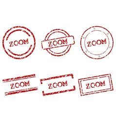 Zoom stamps vector