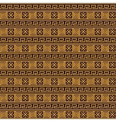Greek ethnic wave pattern vector