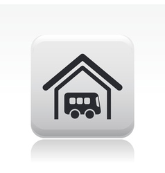 bus station icon vector image