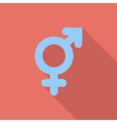 Bisexuals sign vector image vector image