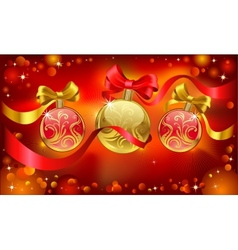 Chrismas greeting card vector