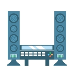 home theater cinema music vector image