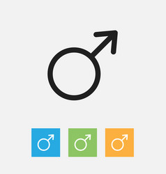 Of trade symbol on woman vector