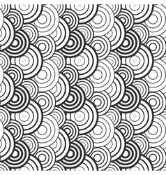 Pattern with circle elements vector