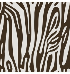 Seamless background with zebra skin vector