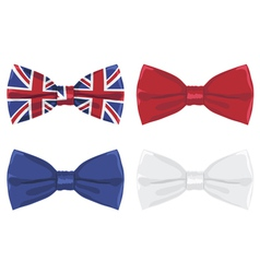uk bow tie vector image