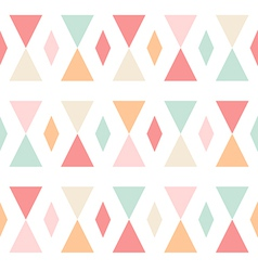 Geometric abstract triangles seamless pattern vector