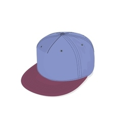 Hats cap hip hop sport accessories vector