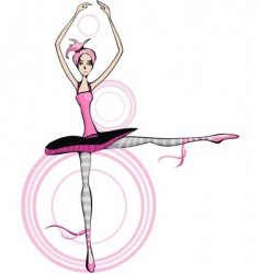 ballet vector image