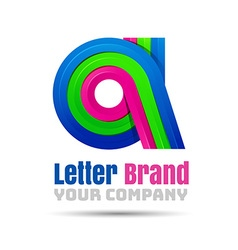 A letter logo icon element design template for vector