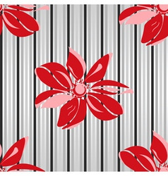 floral seamless parent vector image
