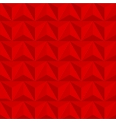 modern geometric triangle red background vector image vector image