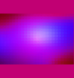Pink purple blue abstract rounded mosaic vector
