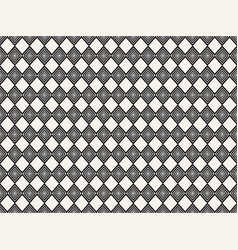Seamless pattern with geometric shapes repeating vector