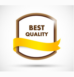 Best quality label vector