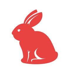 Bunny animal nature vector