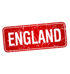 England red stamp isolated on white background vector