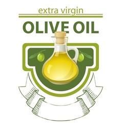 Extra virgin olive oil vector