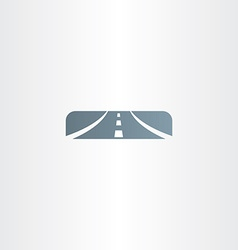 highway icon sign logo vector image