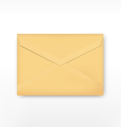 Realistic envelope vector image
