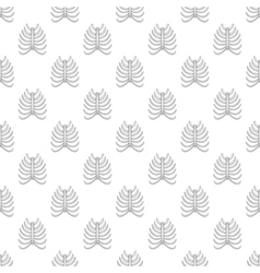 Ribs seamless pattern vector