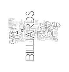 Whats the difference between pool and billiards vector
