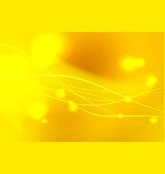Yellow shades abstract background with light vector