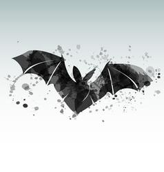 A flying bat vector