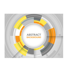 Abstract futuristic background with circular vector