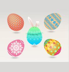 Easter egg object vector