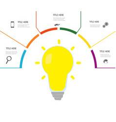 Infographic elements for your business vector