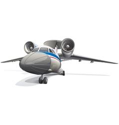 Awacs aircraft vector