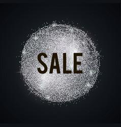 Silver-sale-blot vector