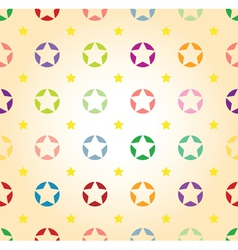 star background seamless vector image vector image