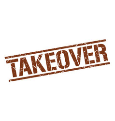Takeover stamp vector