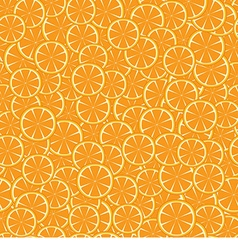 Background with orange pieces vector image