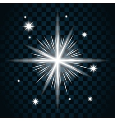 Shine star sparkle icon 16 vector