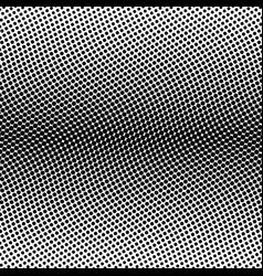black halftone bilinear horizontal gradient line vector image