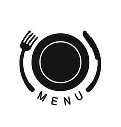 emblem for menu vector image vector image