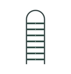 Ladder flat icon vector