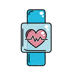 Smartwatch to know the rhythm cardiac vector