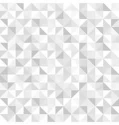 Seamless white geometric pattern vector image