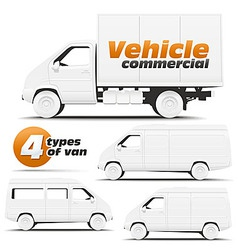Vehicle commercial vector