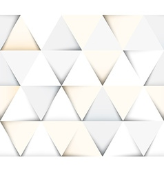 Abstract geometric seamless pattern with triangles vector image