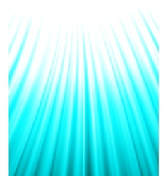 Background of blue luminous rays vector
