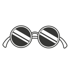 Party glasses isolated icon design vector