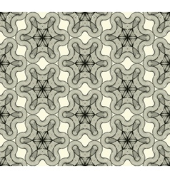 Abstract seamless pattern with a tracery figure vector image vector image