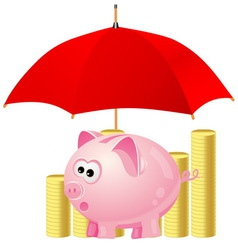 piggy-bank vector image vector image